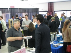 The trade show produced profitable results for the 12 exhibitors.