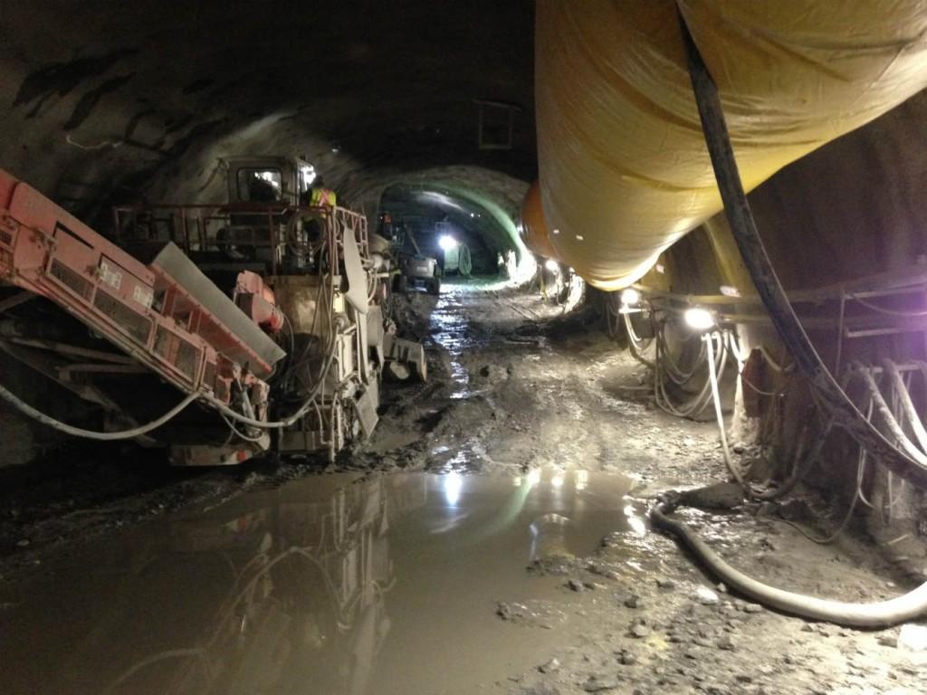 Rideau-Station-Cavern-excavation