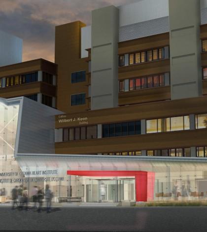 heart institute rendering