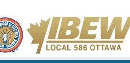 ibew 586 logo