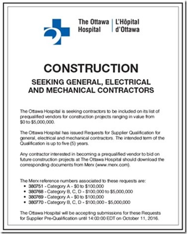 revised ottawa hospital
