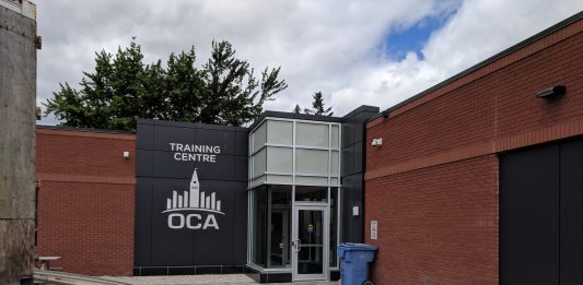 oca training meeting entrance