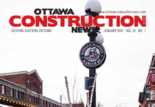 Ottawa Construction News Jan 2021 cover