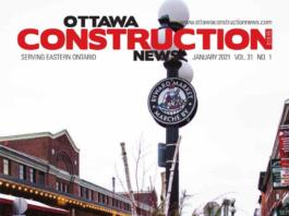 Ottawa Construction News Jan 2021 cover