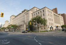 West Memorial Building in Ottawa