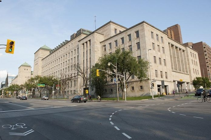 West Memorial Building in Ottawa