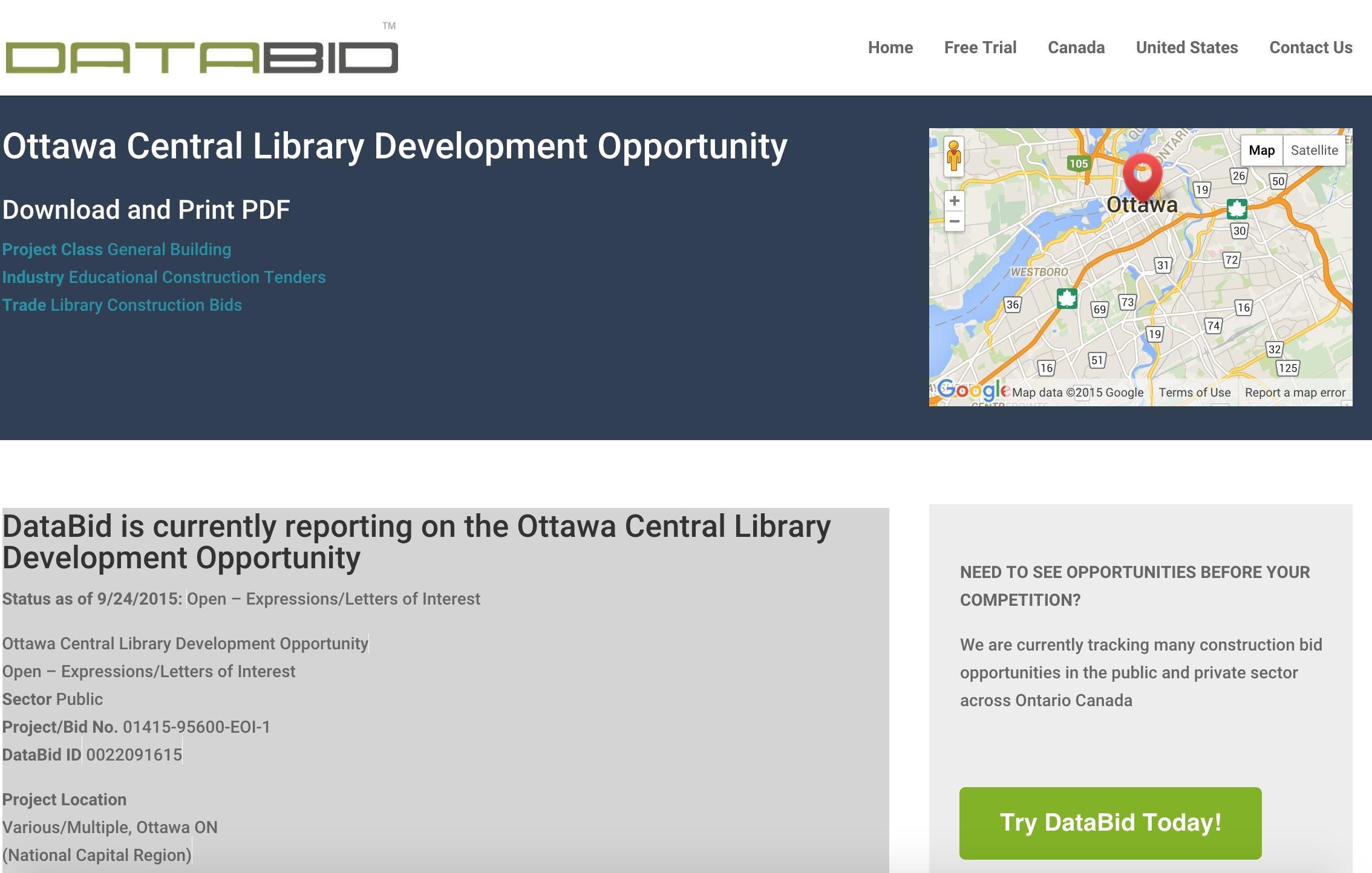 databid ottawa library