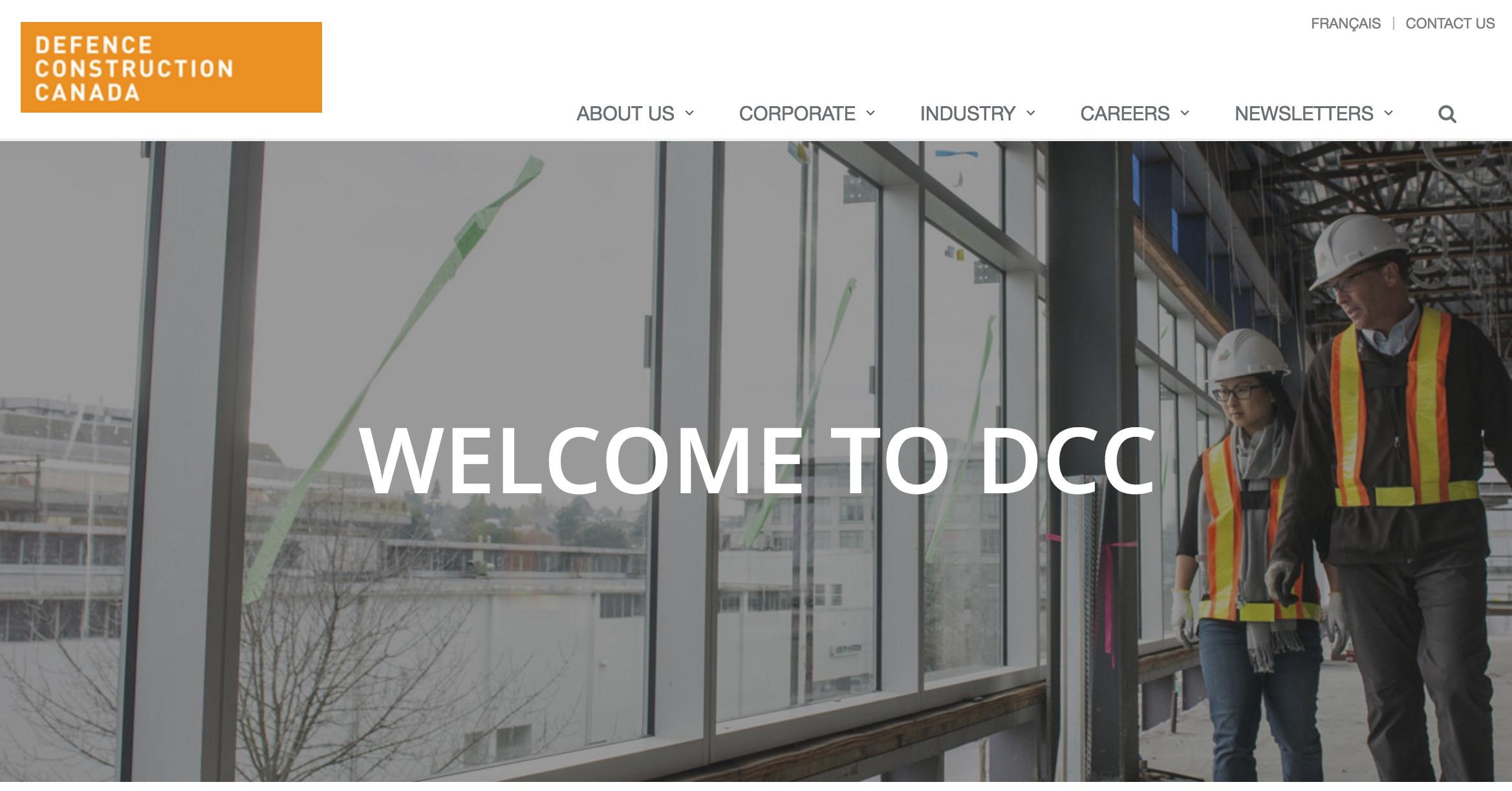 DCC webpage