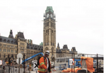 Parliament hill construction