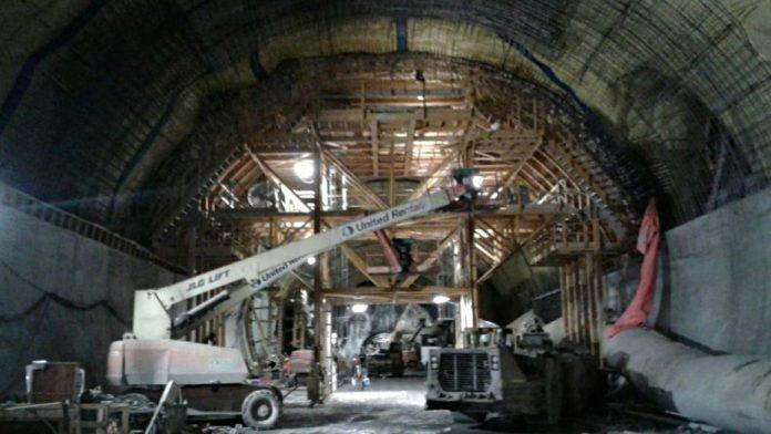 rideau station cavern