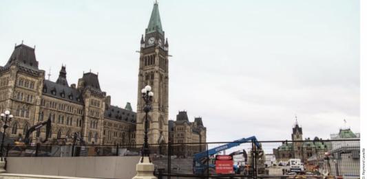 parliament construction